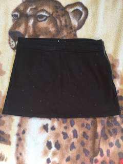 Junk food denim skirt