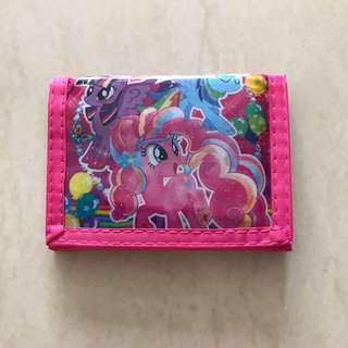My little pony wallet with coin compartment