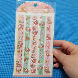 My Melody Sanrio Masking Stickers