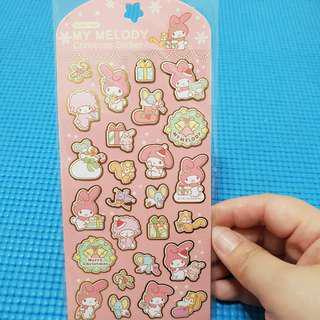 My Melody Sanrio Christmas Stickers