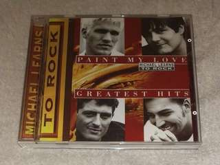 Michael learns to rock - Paint my love greatest hits CD 唱片
