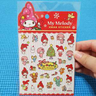 My Melody & Friends Sanrio Christmas Stickers
