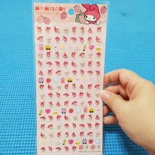 My Melody Sanrio Decor Stickers