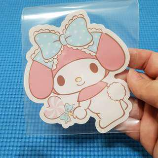 My Melody with Candy Sanrio Sticker