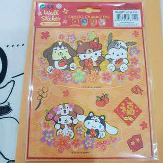 Sanrio Characters Stickers My Melody Cinnamoroll Hello Kitty