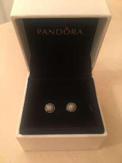 Pandora Sterling Silver Stud Earrings