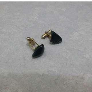 1960s Semi Precious Gem Stones Cufflinks