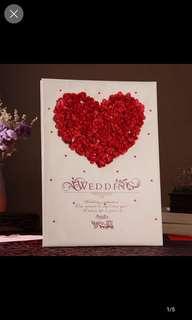 結婚簽到禮簿