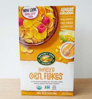 Nature's Path密糖味粟米片300克 Nature's Path organic honey  corn flakes 300g