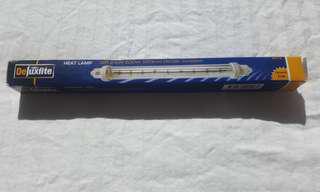 Deluxlite Heat Lamp 240v 500w 220mm Baine Marie