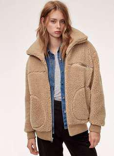 Wilfred Free teddy jacket