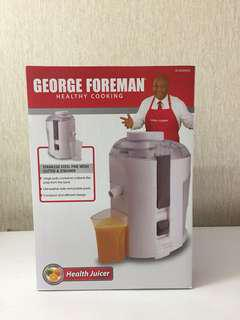 George Foreman Health Juicer