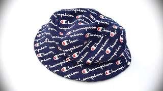 Champion Reverse Weave Logo Bucket Hat Free Post