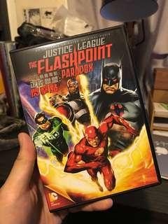 正義聯盟:閃擊點 Justice League the Flashpoint Paradox DVD