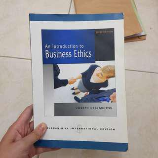 An Introduction to Business Ethics McGraw Hill