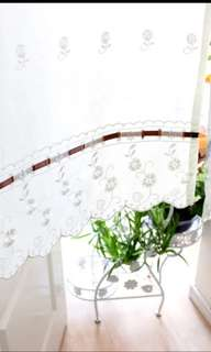 In Stock Lace Door Curtain Partition Fengshui