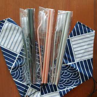 BN metal reusable straws