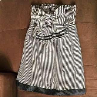 【🆕全新】靚料直間Tube Dress