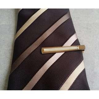 Late 1940s Art Deco Vintage Tie Clips (European)