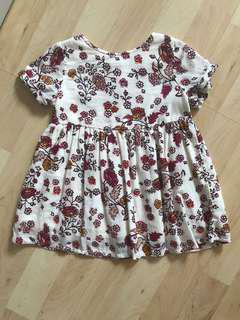Old Navy Floral Cutout Dress