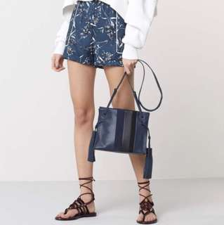 Allsaints Casey Tassel Leather Bucket bag