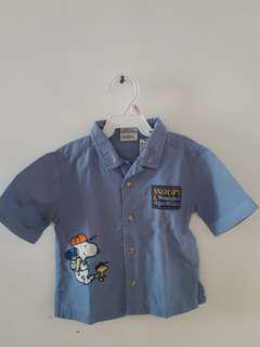 Peanuts Blue Shirt