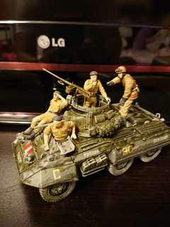 Greyhound with crew in 1/35 Scale - Display model