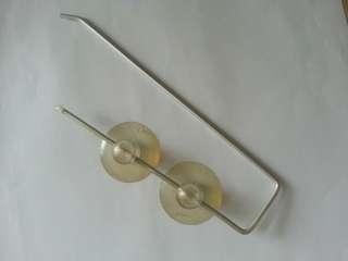 厨紙架 吸盤 kitchen oil filter paper holder