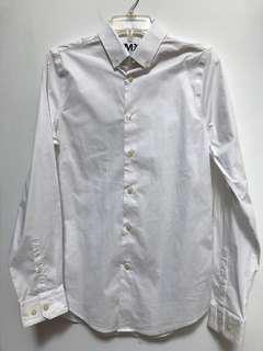White Extra Slim Fit Tshirt