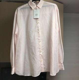 🈹 全新未拆牌 日牌 Mercuryduo 粉紅 恤衫