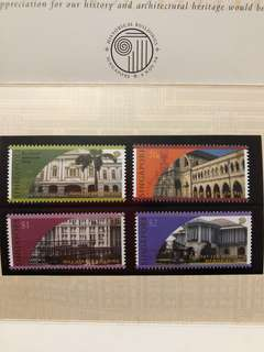 Singapore stamps - Historical Buildings