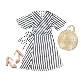 Carla Wrap on Dress