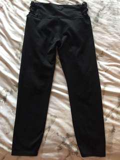 fabletics 3/4 length high waisted leggings