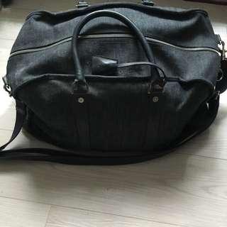 Mulberry Denim weekend Travel bag