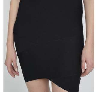 MDS Bandage Knit Skirt in Black
