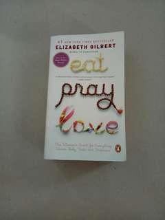 Novel eat pray love