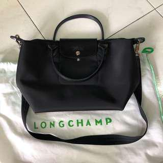 Longchamp Neo small in black