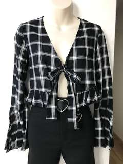 Black & White Top S/M/L