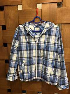 🚚 Lative格紋襯衫外套