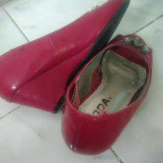 Girls Red Size 9