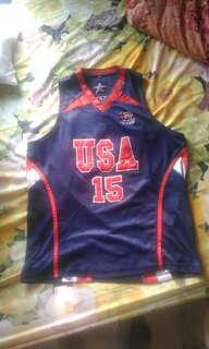 Jersey Basket USA Carmelo Anthony Size XL