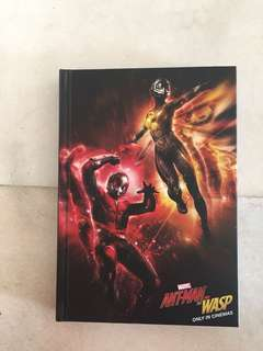Marvel Ant-Man Notebook with Mini Notebook #worldcup100
