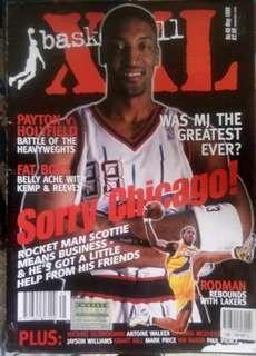 NBA XXL Basketball Scottie Pippen No.45 May 1999
