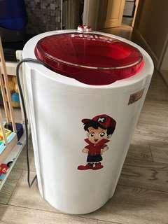 海爾 XPM30-2008 3kg小型兒童迷你半自動單筒洗衣機無甩乾