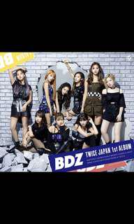 "[PO/IT] TWICE ""BDZ"" Japanese Album"