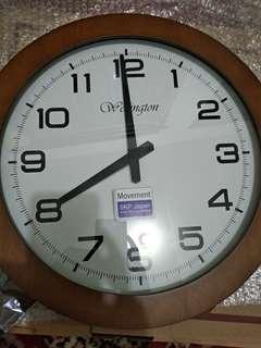 Wellington wooden clocks (jam dinding) b072ce7ac7