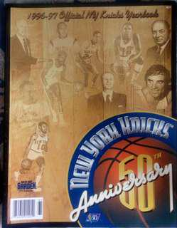 1996-1997 Official NY Knicks Yearbook