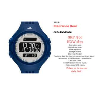 🚚 [Promotion] Adidas Sports Watch (Digital)