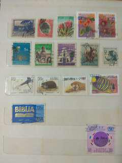 Stamps Africa & South America