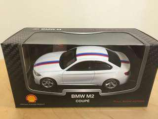 Mainan mobil koleksi Shell BMW M2 coupe
